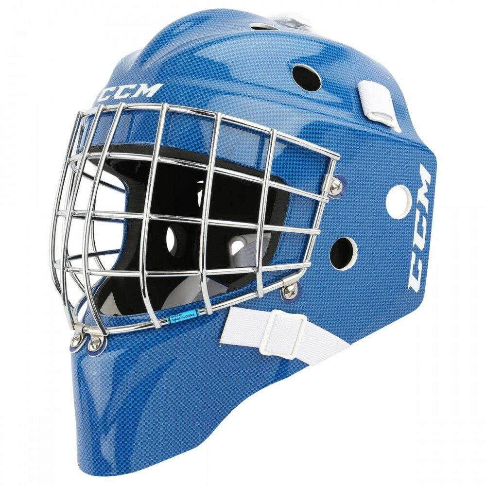 CCM Masque de Gardien GF7000 Bleu Youth