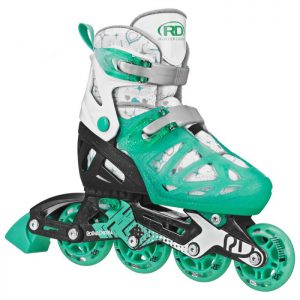 RollerDerby Tracer Ajustable - Menthe